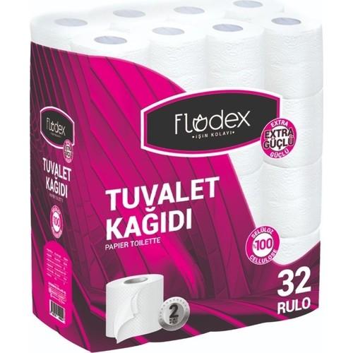 FLODEX TUVALET KAGIDI 2 KATLI 32 LI