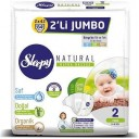SLEEPY NATURAL 2 NO 2 Lİ JUMBO 3-6 MİNİ 84 LÜ