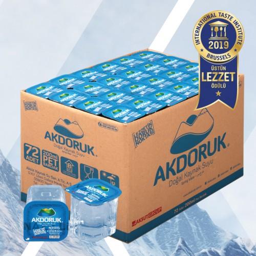 AKDORUK 200 CC 72 Lİ BARDAK SU