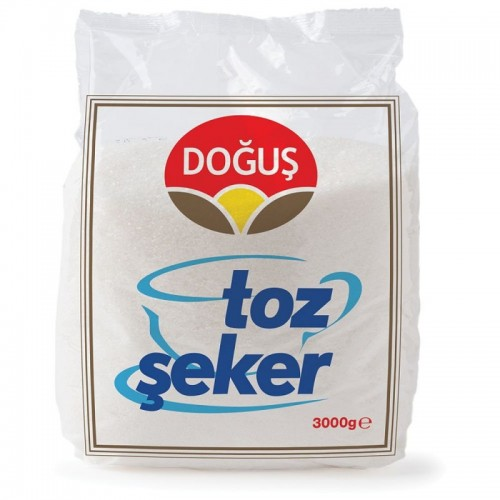DOĞUŞ 3 KG.TOZ ŞEKER