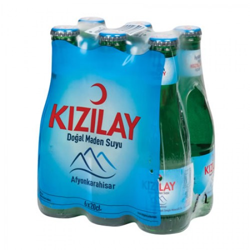 KIZILAY SODA SADE AFYON 6 X 200 ML