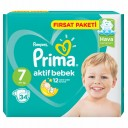 PRİMA AKTİF BEB FIRSAT PAKETİ 7 NO 15+ LARGE 34 LÜ